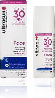 ultrasun 抵御衰老面部防晒霜,SPF30,50毫升