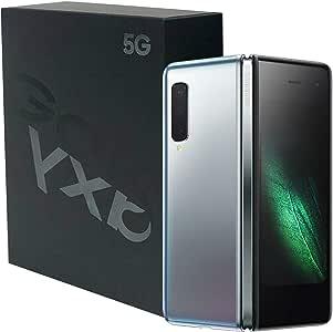 三星 Galaxy Fold (5G) 512GB/12GB RAM SM-F907B 7.3英寸(仅GSM,SCDMA,无CDMA)工厂解锁安卓智能手机 - 国际版 太空银