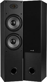 Dayton Audio T652-AIR 双 6-1/2 英寸(约 16.5 厘米)双向塔扬声器对 AMT 高音扬声器
