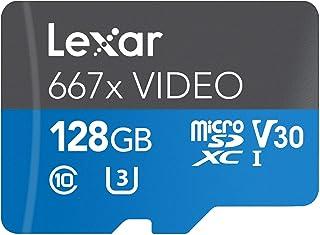 Lexar Professional 667x Video 128GB microSDXC UHS-I 卡LSDMI128VBNA667A 128GB