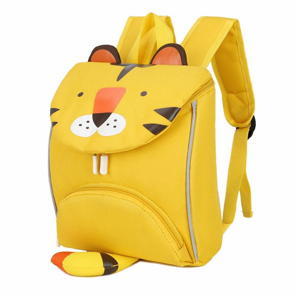 CutePaw 卡通老虎/兔子/动物印花儿童鞋背包书包背包,男女皆宜