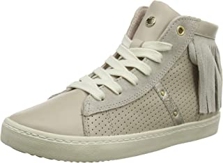 Geox 健乐士 J Kilwi Girl N 女童运动鞋 Beige (Beige C5000) 37 EU