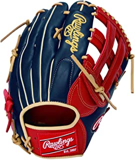 Rawlings(Rawlings)棒球 软式用 HOH® MAJOR STYLE [外野手用] 花哨风格 GRXHMBH9 12.75英寸