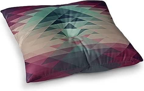 "KESS InHouse Nika Martinez""Hipster"" 褐红色方形枕垫 多种颜色 26"" x 26"" MM1065ASF02"