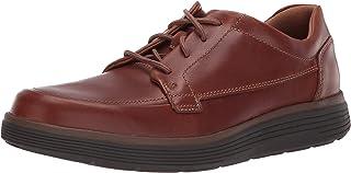 Clarks 男式 系带牛津鞋