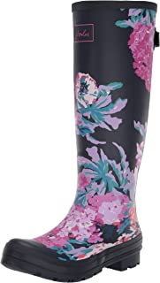 joules 女式 WELLY 印花惠灵顿靴