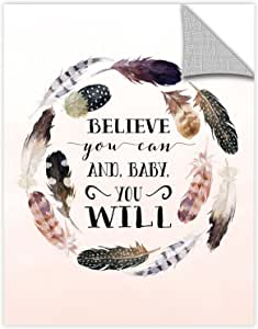 Tara Moss's Baby You will , Removable Wall Art Mural 18x24