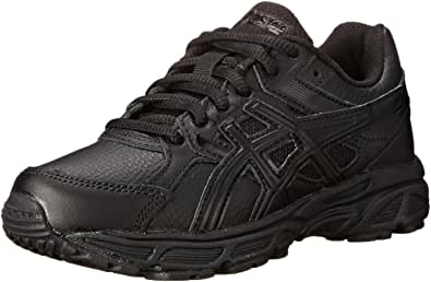 ASICS Gel Contend 3 GS SL 跑鞋(小童/大童) Triple/Black/Onyx 3.5 M US 儿童