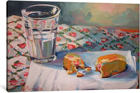 iCanvasART HWE26-1PC3 Milk and Twinkie Canvas Print by Hillary White, 0.75 by 12 by 18-Inch