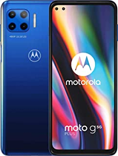 moto g 5G plus Dual-SIM Smartphone (6,7\-CinemaVision-FHD-Display, 48-MP-Vierfach-Kamerasystem, 128 GB/6 GB, Android 10) B...
