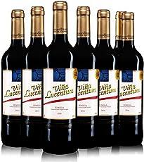 Vina Lucentum 卢森顿庄园 红葡萄酒整箱装 750ml*6 (新老标签随机发货)