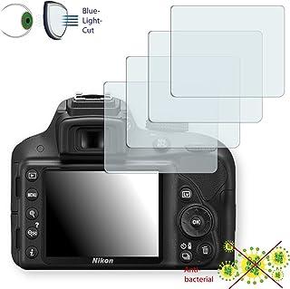 4x Disagu 透明屏幕保护膜 适用于尼康 D3300 - *蓝光滤光保护膜