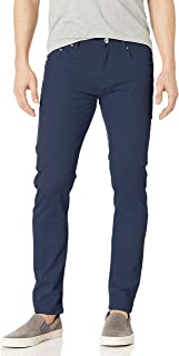 WT02 男式基本颜色斜纹弹力裤 *蓝(新) 29W x 30L
