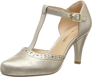 Clarks 女士 Dalia Leah T-Bar 高跟鞋