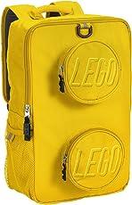 乐高 LEGO 砖背包背包 黄色 均码