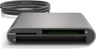 KabelDirekt USB-C 数字存储卡读卡器 (SDXC、SDHC、SD、MMC、MMCplus、microSDXC、microSDHC、microSD、CF 类型 I、Microdrive)