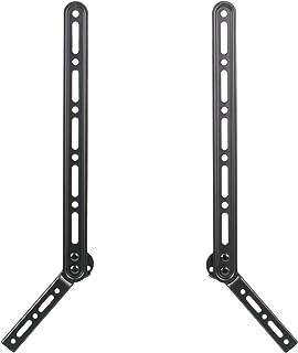 VIVO 通用音箱支架音箱支架位于墙壁挂式电视上方或上方 | 适合 58.42 厘米-165.1 厘米(安装-SPSB2)