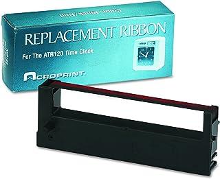 ACRO PRINT TIME RECORDER, 390127000 Ribbon, Black/Red