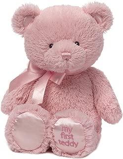 """Gund Baby Gund My 1st Teddy Plush Toy, 24"""" 粉红色 24"""""""