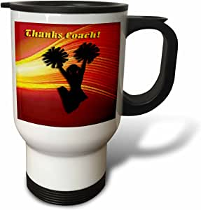 tm_16340 Beverly Turner Labor Day Design - Labor Day Patriotic Eagle - Travel Mug 白色 14oz Travel Mug