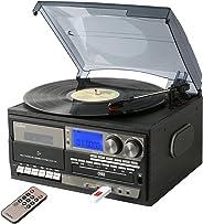 TCD-114(支持AM/FM收音机 (宽频FM)) 录音功能 播放功能 USB/SD CD 盒式胶带 灰色 TCD-114(GR)