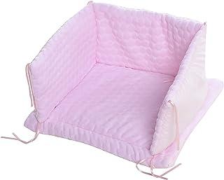 Isabella Alicia 粉色泡泡婴儿床套装,0.4 千克