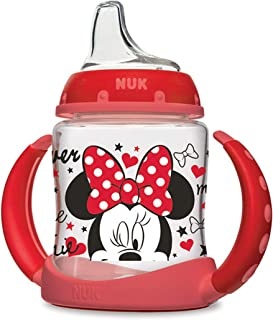 NUK 迪士尼学习者吸管杯,米妮,5盎司(约147.85 毫升),1pk