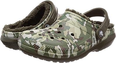 [卡駱馳] 涼鞋 經典 線條 格紋 2.0 黑色 Camo/Dark Camo Green 22.0 cm