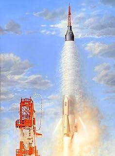 PLATZ 1/72 Mercury Atlas 火箭 塑料模型 HM2002