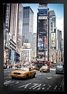 海报 Foundry Time Square Midtown 纽约市曼哈顿市 纽约市 NYC 照片艺术印刷品 ProFrames 裱框海报 14x20 inches 144041