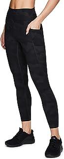 RBX 活性拼接拼色打底裤,带网眼衬垫