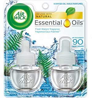 Air Wick Scented Oil, Fresh Waters, 3.38 fl oz 2 refills 1.34