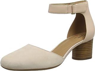 Clarks 女式 Un Cosmo 脚踝绑带凉鞋