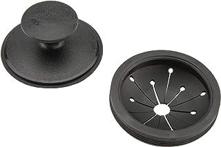 Waste King 替换 EZ Mount 垃圾处理溅水防护圈和塞子 - 1025 黑色 1包 1025