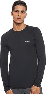 Columbia Men's Midweight Stretch Long Sleeve Top - Black, Medium