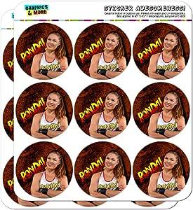 """WWE Ronda Rousey 记事本日历剪贴簿工艺贴纸 不透明 18 2"""" Stickers SCRAP.STICK02.WWEGAM01.Z005444_8"""