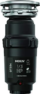 Moen 摩恩 GT33C GT 系列 1/3 马力垃圾处理,配有快速跟踪技术