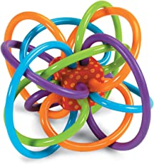 Manhattan Toy Winkel 曼哈顿玩具幼儿乳牙训练手抓球(品牌直供 )【跨境自营】