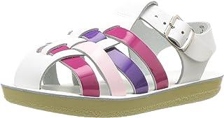 Salt Water 儿童凉鞋 Sun-san 美少女平底鞋