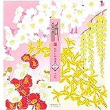 Midori 便签 4种图案 春季花朵 85267006