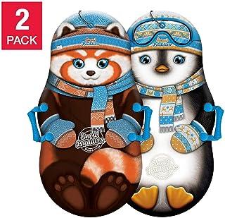 Sno-Storm 36 英寸泡沫冬季儿童雪橇2件装