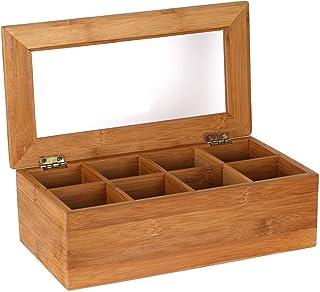 estimlo 竹茶储物盒 木色 不适用 EST0217