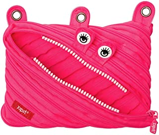 ZIPIT Monster 3-Ring Pencil Case, Pink