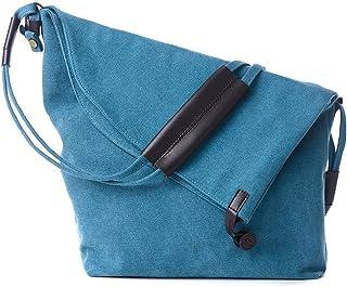 XIN BARLEY 经典中性款休闲帆布斜挎包 斜挎包 斜挎包 手提包 周者时尚包