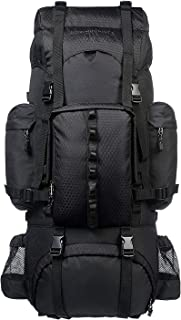 Amazon基本款 内部骨架徒步背包 附赠雨燕 65L 黑色