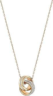 Swarovski 施華洛世奇 奧地利品牌 Further玫瑰金色項鏈 5240525