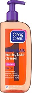 Clean & Clear Essentials Foaming Facial Cleanser, 8 Fl. Oz