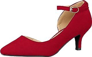 Libertidile 美丽的轮廓 侧开式绑带美腿浅口鞋/5450 5450 女士