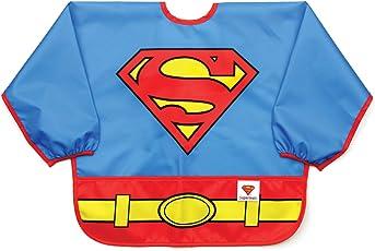 Bumkins Disney 迪士尼婴儿防水长袖围兜 Superman 6-24 个月