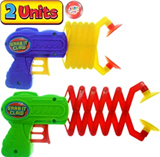 JA-RU 机器人手臂抓握器,抓抓握玩具(单个组合)12 英寸长。 拨片棒。 Grabber 儿童玩具。 *的派对包装礼品工具玩具。 加 1 个弹跳球产品 #5614-1A 2 Units 12 Inches